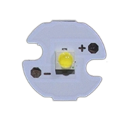 3W XP-E style cool white LED on 16mm PCB