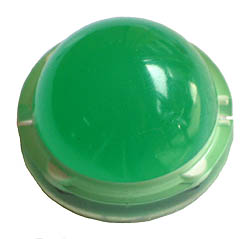20mm green LED - 2 pins