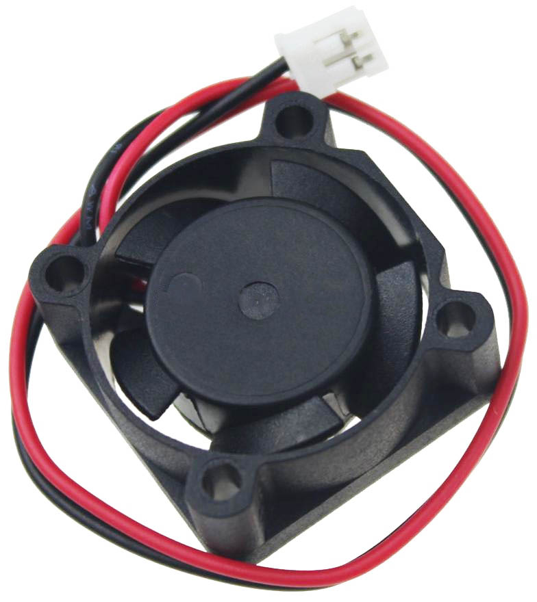 Tiny 25mm 12V fan