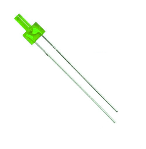 Green diffuse 2mm tower LED