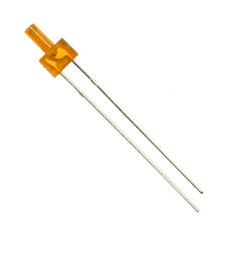 Orange diffuse superbright 2mm tower LED