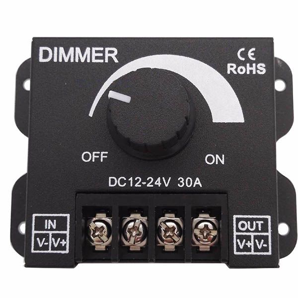 1 channel 30 amp manual dimmer