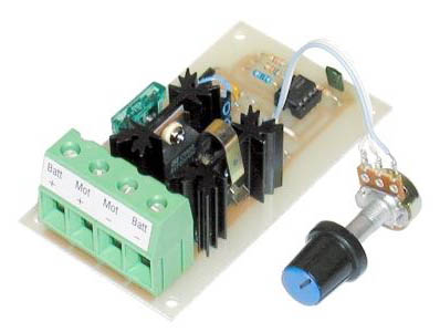 30A, 12-24V DC motor speed controller/LED dimmer kit