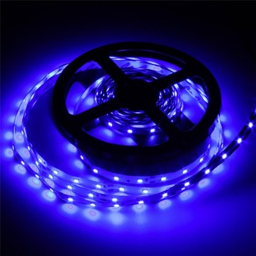 12V, 3528 blue flexible strip - 60 LEDs per metre