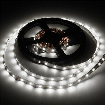 12V, 3528 white flexible strip - 60 LEDs per metre