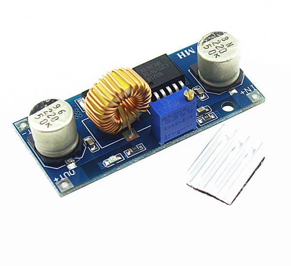 5A buck DC-DC converter with voltage control