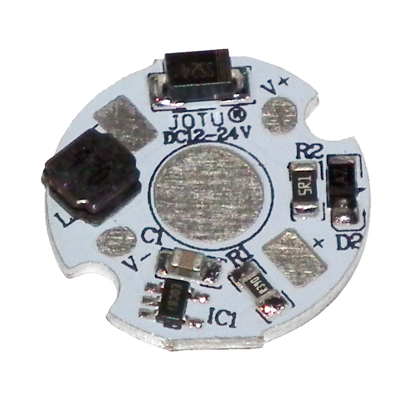 LED star PCB with inbuilt switchmode driver