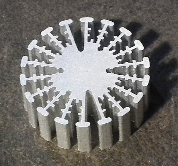 53mm diameter fan style heatsink