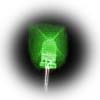 5mm superbright green LEDs - bag of 1000 with long leads