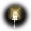 5mm superbright warm white LEDs - bag of 1000 with long leads