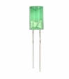 5mm green conical indent LED
