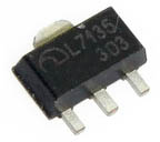 AMC7135 equivalent 350mA linear LED driver IC