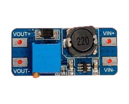 Low profile 2A DC-DC boost converter