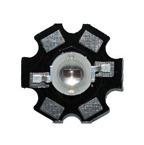 3 watt dual chip 720nm far red star LED