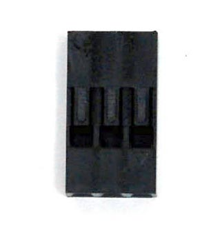 Dupont socket holder - 3 pin