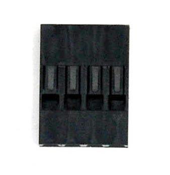 Dupont socket holder - 4 pin