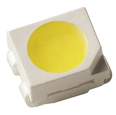 PLCC-4 cool white surface mount LEDs