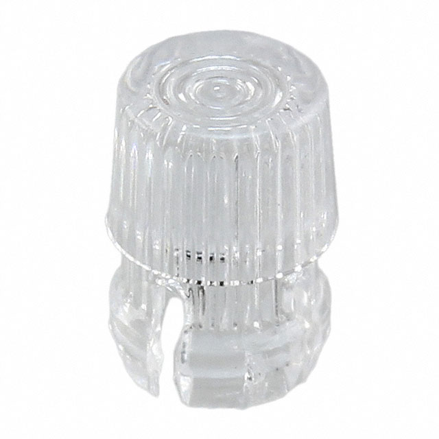 Panel mount LED holder for 3mm LEDs - clear