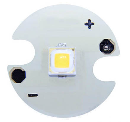 Samsung 5W 3535 warm white LED on 16mm star PCB