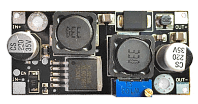 Adjustable buck/boost DC to DC converter