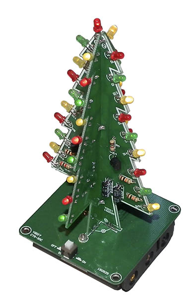 Simple LED Xmas tree kit