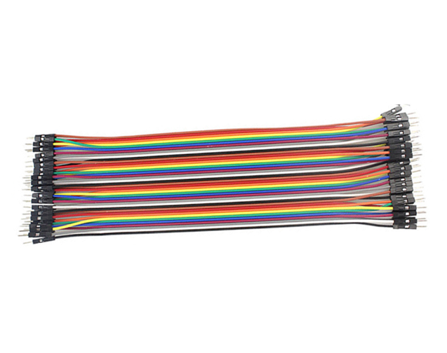 Breadboard jumper wire pack - male to male