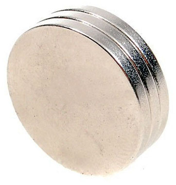 16mm x 2mm high strength rare earth magnets