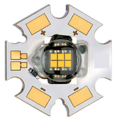 Osram Ostar 20 watt 6-chip LED star - warm white