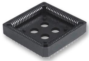 PLCC 84 pin socket for universal clock IC