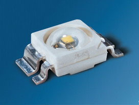 Warm white Osram power TOPLED