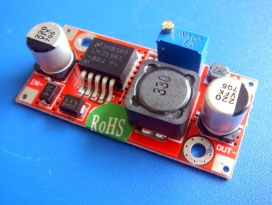 Adjustable stepdown DC to DC converter - high voltage