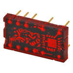 TIL311 7 segment LED display with inbuilt decoder - new