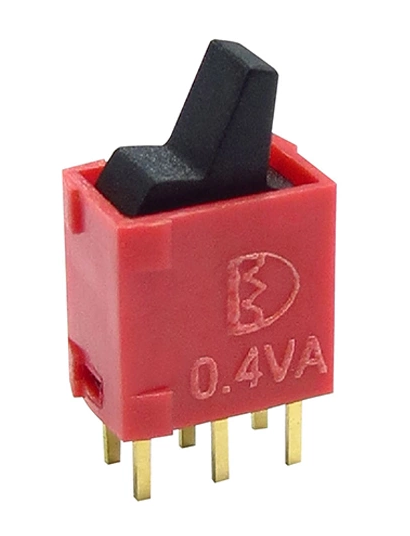 Absolutely tiny DPDT paddle/toggle switch