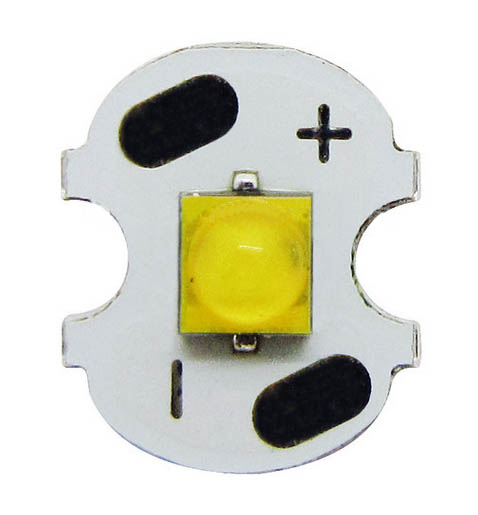 Cree XB-D warm white on 8mm PCB